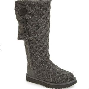 UGG Lattice Cardy UGG Pure Knit Boot